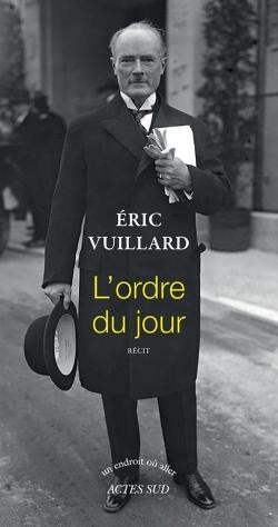 Ordre du jour - Éric Vuillard